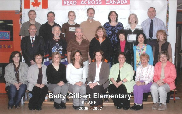 BETTY GILBERT 2006-07