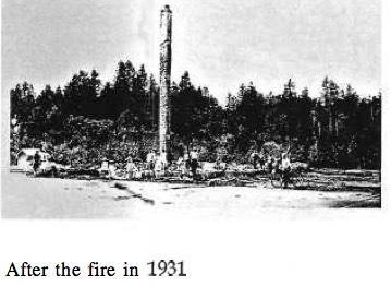 CL After fire in 1931